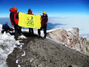 На вершине вулкана Орисаба