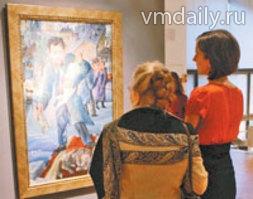 На выставке Вячеслава Калинина