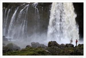 Водопад на Голубом Ниле