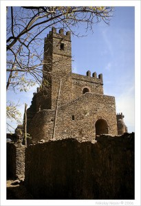 Замок в Гондаре