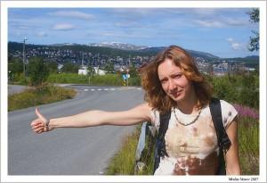 Тромсо. Заполярная Норвегия. Автостоп
