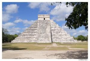 Чичен-Ица. Пирамида Пернатого Змея
