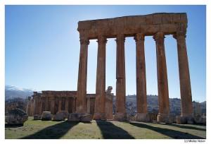 Ливан. Баальбек. Храм Юпитера