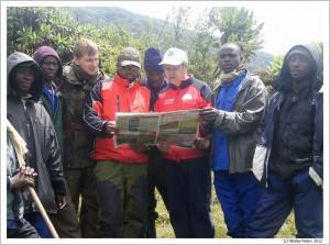 Руанда. Горы Вирунгу. Карисимби