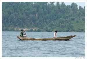 Руанда. Озеро Киву