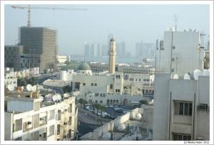 Доха. Катар. Вид из гостиницы