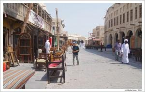 Доха. Катар. На улице города