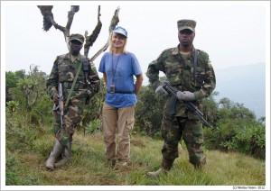 Руанда. Горы Вирунга.