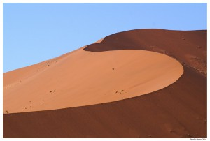 Намибия. Красные дюны