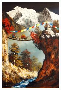 Непал. Живопись