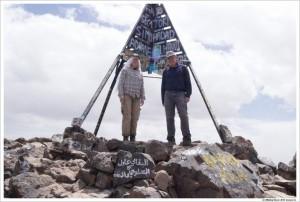 Высшая точка северной Африки пик Тубкаль