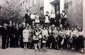 29-я школа. Наш класс. Последний звонок 1978 г.