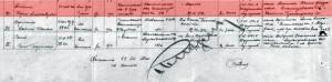 Сведения о плене и освобождении Бориса Метлина. Источник: Центральный архив Министерства обороны