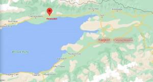 На озере Иссык-Куль