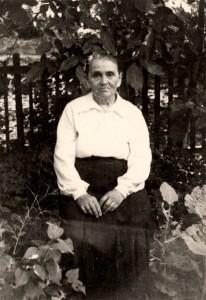 Тёща, Анастасия Васильевна Демьянок. Ставрополь, Лермонтова 123, 1954