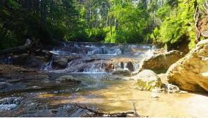 Водопады на Кислом ручье